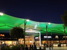 **Diagonal Mar Centro Comercial (nice shopping mall with terrace restaurants and a movie theater showing films in English) - Barcelona, Spain