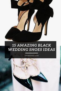 Amazing Black Wedding Shoes Ideas #weddingshoesflat Bride Shoes, Wedding Shoes, Dream Wedding, Perfect Wedding, Wedding Dress Trends, Bridal Fashion Week, Classic Beauty, Black Heels, Wedding Inspiration