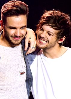 They are so beautiful. But Louis's smile gives me life and hope