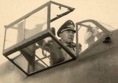 Werner Mölders in his Bf109