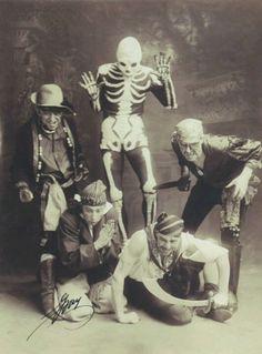 Vintage pirate Halloween