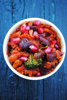 Beet curry |VeganSandra - tasty, cheap and easy vegan recipes by Sandra Vungi