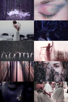 sylph aesthetic  a mythological spirit of the air by Skogsra
