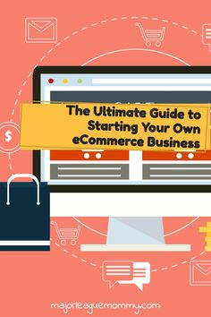 Start your own eCommerce Business this year using this step-by-step guide.  #ecommerce #onlinestore #retail #shop #digitalmarketing #webdesign #onlineshop #entrepreneurs #entrepreneurship Find Work, Retail Shop, Work From Home Moms, Major League, Step Guide, Entrepreneurship, Ecommerce, Make It Simple, Digital Marketing