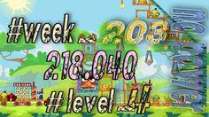 Angry Birds Friends Tournament Week 203  Level 4   no power  HighScore (...