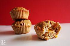 Vanilla Spiced Peach Protein Muffin Recipe