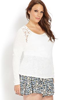 Sweet Crocheted Top | front