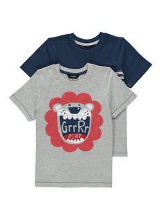 2 Pack Lion T-shirts