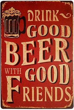 Tin Sign Cold Beer Here Beer Advertising Metal Poster Sign Plauqe Wall Decor for Vintage Retro Bar Pub Bar Vintage, Vintage Metal Signs, Vintage Party, Vintage Store, Retro Vintage, Plate Wall Decor, Plates On Wall, Beer Slogans, Beer Humor