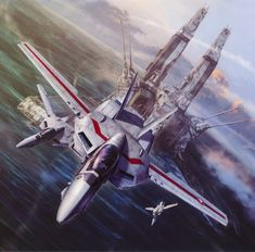 Vermillion Squadron Robotech best known as Macross; wonderfull and thrilling memories.
