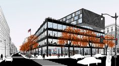Bustler: Mecanoo and Martinez + Johnson chosen to redesign MLK Library in D.C.
