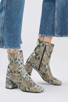 MAX Snake Sock Boots - Topshop USA