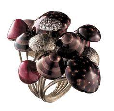 Closeup of Mushroom ring