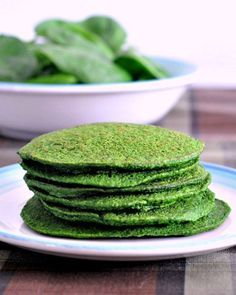Spinach Pancakes - quick and easy vegan @spabettie