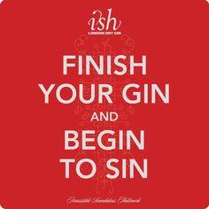 Acaba tu gin-tonic y empieza a pecar