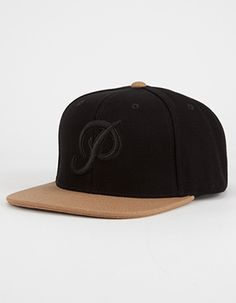 """Primitive Classic P canvas snapback hat. Canvas hat with a raised woven Primitive P logo on the front panel. Tonal """"Primitive"""" stitched on the back with an adjustable snapback. Mens Hat Store, Baseball Cap Outfit, Baseball Caps, Vans Hats, Canvas Hat, 59fifty Hats, Dope Hats, Flat Bill Hats, Formal Shoes For Men"""