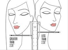 How to tell whether short hair will look good with your face shape or not. Click through for the ultimate test.