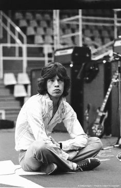 The rolling stones -Mick Jagger-