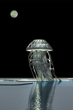 Jellyfish Hotel, Tianjin, China (by Michael Sorkin)