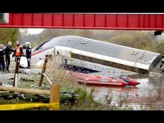 French TGV high-speed train derails in east