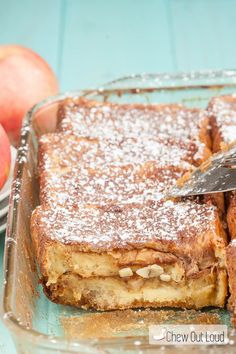 This Apple Texas French Toast Bake is a big notch above regular French toasts. With apple butter and fresh apples, it's phenomenal. Make ahead recipe!