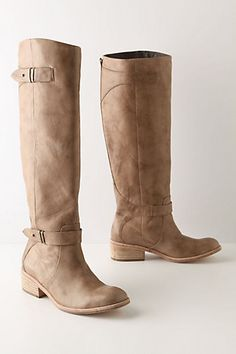 High Knee boots! Totally feeling these with some soft dresses or some skinny jeans.