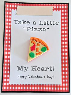 Cute valentine card and gift for boys and girls!