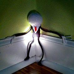 Creepy Cute Slender Man - CROCHET