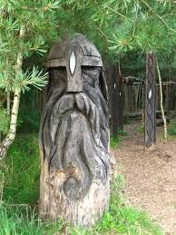 viking wood carvings - Google Search