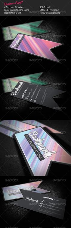 Bookmark Business Card $4.00