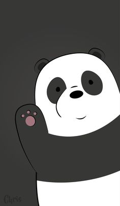 Best of We Bare Bears Wallpaper - Get super charming and attractive ideas related of We Bare Bears Cartoon Images on ThePhotocrafters. You'll find a spectacular selection of HD wallpapers and backgrounds. Cute Panda Wallpaper, Bear Wallpaper, Galaxy Wallpaper, Disney Wallpaper, Mobile Wallpaper, Wallpaper Backgrounds, Iphone Wallpaper, White Wallpaper, Tsum Tsum Wallpaper