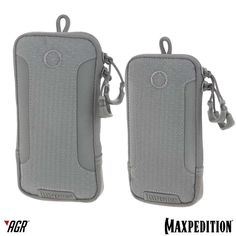 The PLP™ and PHP™ from the Advanced Gear Research line are pouches sized to fit the iPhone 6 Plus and iPhone 6. The interior is lightly padded with felt and loop-lining. www.Maxpedition.com