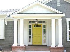 Must have a yellow door!