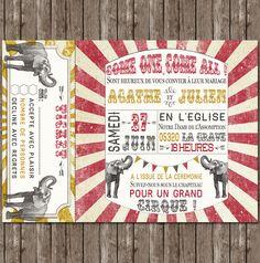 faire-part-mariage-cirque-elephant-guinguette-retro-vintage