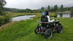Explore the beautiful countryside with the all-terrain wheechair | Simply Emma, blog | 27. ágúst 2017
