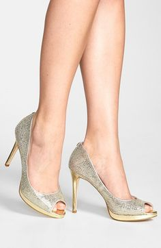 White and Gold Wedding Shoes. Ivanka Trump 'Maggie' ...