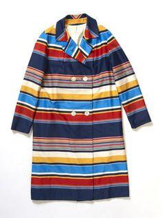 Multi Stripe Coat
