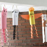 #Farm Animal Windsocks - Buggy and Buddy - #kids #crafts