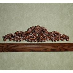 Incroyable Pretty Carved Wood Door Topper Scroll Design, Woodcarving, Vintage Crafts,  Wood Doors,