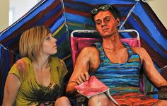 alexa meade: real-life paintings