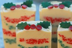 Ugly Xmas Sweater Scented with a combination of Autumn Wreath and Cinnamon fragrance oils, this one made our whole house smell like Chr. Ugly Xmas Sweater, Christmas Sweaters, Autumn Wreaths, Nom Nom, Cheesecake, Soap, Ethnic Recipes, Holiday, Desserts