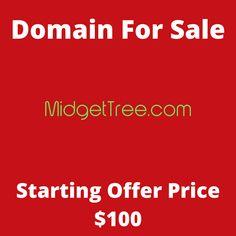 MidgetTree.com domain name for sale! Visit it now to purchase it!  #midgettree #midget #tree #bonsai #domainforsale #domainname #domains #domainsale #domainnameforsale #website K Store, Budgeting, Names, Website, Live, Tent, Homemade Tea, Luxury Watches, Bonsai
