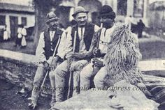 Dobrogea shepherd playing caval