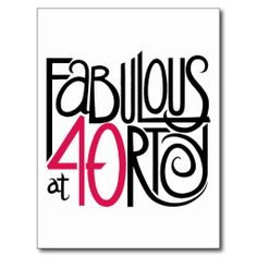 ==>>Big Save on Fabulous at 40rty Postcard Fabulous at 40rty Postcard Yes I can say you are on right site we just collected best shopping store that haveReview Fabulous at 40rty Postcard Review on the This website by click the button below...Cleck Hot Deals >>> http://www.zazzle.com/fabulous_at_40rty_postcard-239695142472017826?rf=238627982471231924&zbar=1&tc=terrest