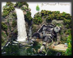 "Gunpla Diorama_ ""Les Enfants Du Paradis"" By Fendoza"