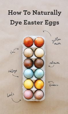 Learn how to create wonderful, deeply colored eggs with leftover scraps you have in your kitchen!