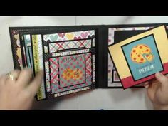 Papel Scrapbook, Mini Scrapbook Albums, Mini Albums, Flip Books, Mini Books, Mini Scrapbooks, Mini Album Tutorial, Country Crafts, Graphic 45