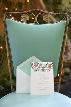 Wedding Invitations by Fourteen-Forty | Planning & Design by Jove Meyer Events | Floral Design by The Wild Ivy | Photography by Jessica Schmitt Photography #colorful #brooklynwedding #boho #romantic #fourteenforty www.1440nyc.com/brooklyn-boho-romance