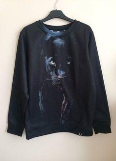 Kup mój przedmiot na #vintedpl http://www.vinted.pl/damska-odziez/bluzy/17545793-bluza-grimes-czarna-aloha-from-deer