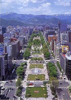 Sapporo -  Hokkaido - Japan }